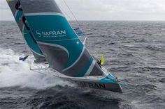 IMOCA60 Transat Jacque Vabre 2015 - Safran damaged and abandons the race