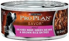 Pro Plan Adult Seared Beef-Beans-Rice Can Dog 24-5.5oz