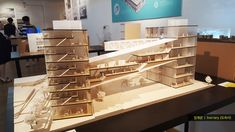 2016 홍익대학교 건축학과 졸업전시회 모형사진 2016 Hongik Univ. School of Architecture Graduation Exhibition Model.