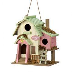 Hummingbird Hut Birdhouse