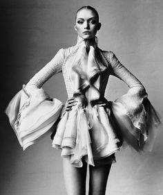Gemma Ward • Vogue US, March 2006