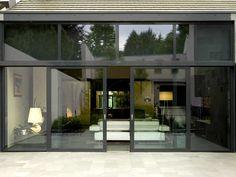 Aluminum Double-glazed Sliding Patio Doors