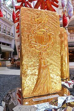 光耀中华,福纳澳门——王开方金砖个展 @澳门 王开方 | Wang Kaifang, GOLD BRICK series sculptures by Wang Kaifang 王开方《金砖》系列雕塑作品