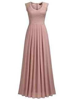 Miusol Women's Casual Deep- V Neck Sleeveless Vintage Wedding Maxi Dress Affordable Prom Dresses, Elegant Dresses, Vintage Dresses, Vintage Outfits, Formal Dresses, Maxi Dress Wedding, Prom Party Dresses, Maxi Dresses, Fashion Dresses