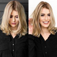 40 Inspiring Medium Length Hairstyles Ideas Which You Will Love Medium Hair Cuts, Medium Hair Styles, Curly Hair Styles, Cool Haircuts, Cool Hairstyles, Gisele Hair, Blonde Hair Looks, Pinterest Hair, Shoulder Length Hair