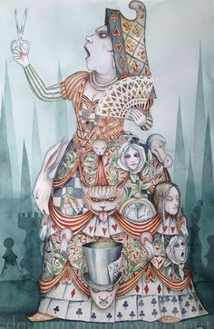 *ALICE in WONDERLAND ~ Keep hold of the tiger's tail - Alice In Wonderland, Dominic Murphy