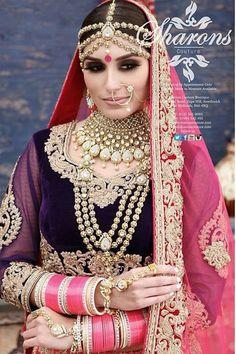 Punjabi bride jewellery