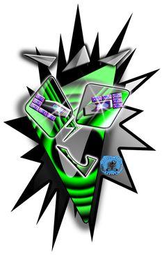 design moderno: Logo per Dj hardcore-techno