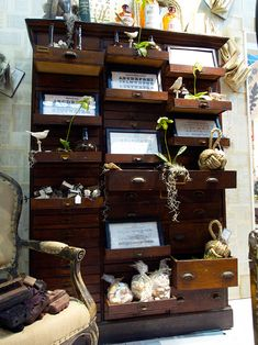 Twos-Company-Antique-Wood-Cabinet