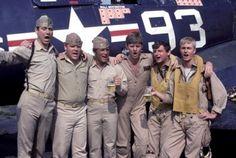 Black sheep squadron - tv show Robert Ginty, Black Sheep Squadron, The Rat Patrol, James Whitmore, Military Shows, John Larroquette, Hogans Heroes, Robert Conrad, Baa Baa Black Sheep