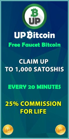 UpBitcoin - High Paying Free Bitcoin Faucet With Multiple Earning Possibilities