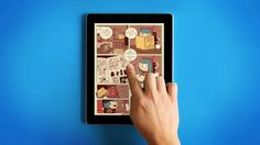 A beautiful UI and a very unique UX. Available to download in the App Store: https://itunes.apple.com/us/app/nobrow-comics/id869287873?ls=1&mt=8  Welcome to Nobrow Comics for iPad!  Prepare to…
