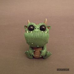 Dragon  FANART Ryniak style  polymer CLAY Sculpture by Buzhandmade
