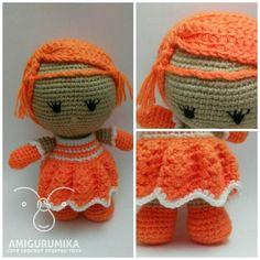 The Orange cute Little cheerleader is available for purchase .. #cheerleader #orange #weebee #girl #toy #doll #cute #handcrafted #handmadewithlove #madewithloveandpassion #madebyme #crochet #crochetlover #crocheting #crochetaddict #amigurumika #amigurmi #yarnporn #yarn #stitch #yarnlove #كروشية #crocheter #crochetersofinstagram