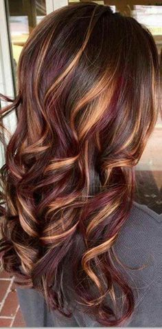 35 Short Chocolate Brown Hair Color Ideas to Try Right Now, Short Chocolate Brown Hair Color Ideas Tell me who does not love these chocolate brown hair colors? Due to its naturality, 35 short chocolate brown …, Hair Color Hair Color And Cut, Cool Hair Color, Red Colored Hair, Fall Hair Highlights, Carmel Highlights, Dark Hair Light Highlights, Chocolate Brown Hair With Highlights, Colorful Highlights In Brown Hair, Brunette Hair Color With Highlights