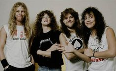 early metallica | Metallica fans are frothing for a taste of the new Metallica record ...