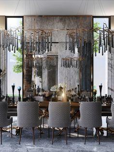 Home Design Decor, Home Interior Design, House Design, Home Decor Bedroom, Living Room Designs, Home Furniture, Modern Design, Dining Room, Design Inspiration