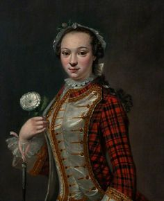 """Portrait of a Jacobite Lady"", attr. Cosmo Alexander, ca. 1745; NTS 207.132"