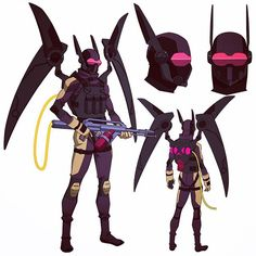 Firefly model from Batman:Bad Blood #firefly #batmanbadblood #dccomics #wbanimation #characterdesign