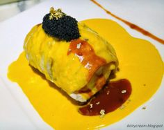 FISH wrapped in French Sole Fish in Uni Sauce and Caviar, Ore no French Italian 俺のフレンチ・イタリアン, Tokyo