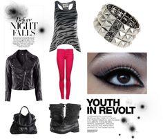 """Punk Rock Chic"" by jesbeach on Polyvore"