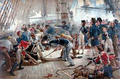 Nelson a Trafalgar