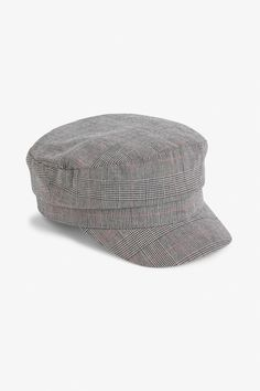 Channel that inner boss with this baker boy cap, checked to perfection 3 Boom! Better Cotton Initiative Thanks for supporting responsibly grown cotton, tog