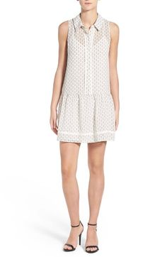 Free shipping and returns on cupcakes and cashmere 'Luc' Chiffon Shirtdress at Nordstrom.com. A sophisticated print and…