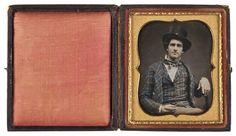 Daguerreotype of of Charles Green McChesney Mount, ca 1855.