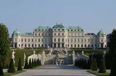Belvédère supérieur, Vienna, Austria - www.castlesandmanorhouses.com
