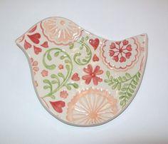 so gorgeous bird soap dish