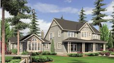 Seligman House Plan - 4790 sq ft, 4 BR and 6.5 BA. Love the exterior and layout of this home!