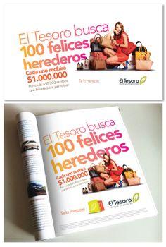 Campaña Herederos El Tesoro Parque Comercial. www.bonsaicrea.com