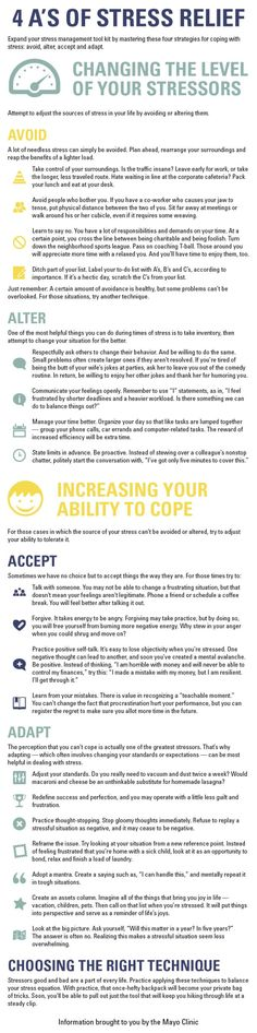 Tips To Keep Calm  Reduce Stress Infographic  Reduce Stress