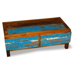 2 Drawers Horizontal made from reclaimed boat timber. Nautical, recycled, reclaimed, boatwood, boat furniture.