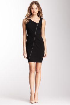 Diagonal Zip Dress on HauteLook