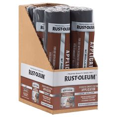 To ensure strong adhesion, smooth coverage and the proper texture always apply Rust-Oleum® Decorative Concrete Coating with a Rust-Oleum® Decorative Concrete Coating Applicator.