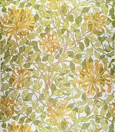 Honeysuckle design - William Morris