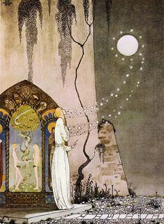 """""""East of the Sun, West of the Moon"""" by Danish artist Kay Nielsen (1886-1957)"""