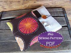 diy ipad case / sleeve pattern and tutorial