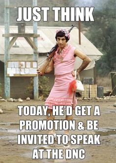 I love Corporal Klinger. He made a fool and a clown of himself,  hoping to get himself kicked out of the Army, but in the end, who was it who chose to remain behind and marry his Korean sweetheart?  Gotta love a guy like that!