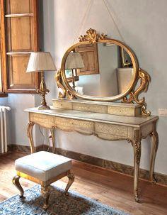 Je veux une chambre romantique et baroque !