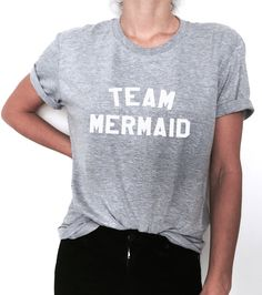 Welcome to Nalla shop :) For sale we have these great team mermaid t-shirts! With a large range of colors and sizes - just select your perfect