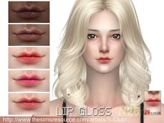Lipstick for female, 5 colors inside, hope you like , thank you. Found in TSR Category 'Sims 4 Female Lipstick'