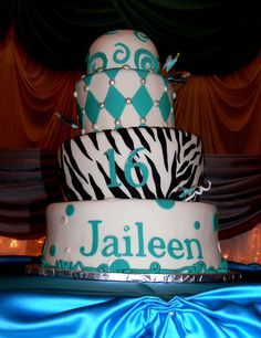 $25. #Tiger Striped Quinceanera Sweet...    Like, repin, share!  Thanks!    Visit http://15sphere.com/