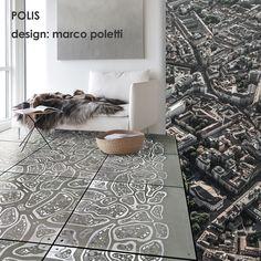 Crea la tua città con POLIS Create your own city with POLIS #formecreative #polis #floor #solutions #city #texture #tiles #design #creativity
