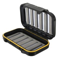 Fishing Tackle Box Fly Fishing Box ABS Plastic Foam *** See this great product. Fly Fishing Tackle, Fly Fishing Lures, Fishing Tackle Box, Fishing Humor, Best Fishing, Self Storage, Storage Boxes, Mousse, Fish Crafts
