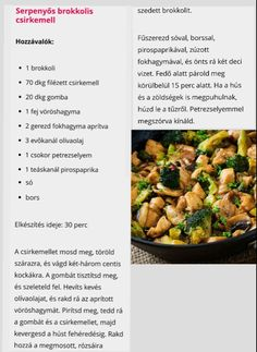 Diet Recipes, Chicken Recipes, Cooking Recipes, Healthy Recipes, Health Eating, Health Diet, Healthy Cooking, Food Dishes, I Foods