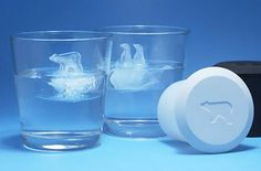 Polar Bear and Penguin Ice Cube Molds – A-hayashi – how freaking cute! Polar Bear and Penguin Ice Cube Molds – A-hayashi – how freaking cute! Ice Cube Molds, Ice Cube Trays, Ice Cubes, Ice Tray, Gadgets And Gizmos, Cool Gadgets, Penguins And Polar Bears, Cool Inventions, Kitchen Gadgets
