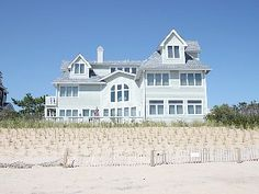 Luxurious Oceanfront Home on Private Beach Vacation Rental in Bethany Beach from @homeaway! #vacation #rental #travel #homeaway